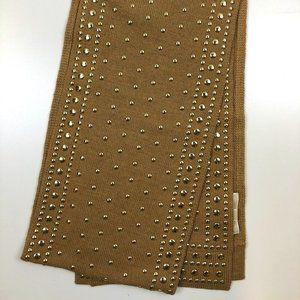 Michael Kors studded knit scarf
